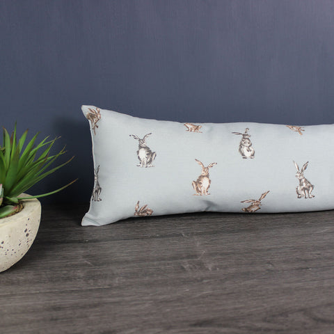 Grey Shabby Hare Draught Excluder