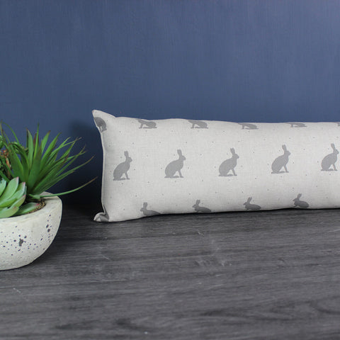 Grey Hare Draught Excluder