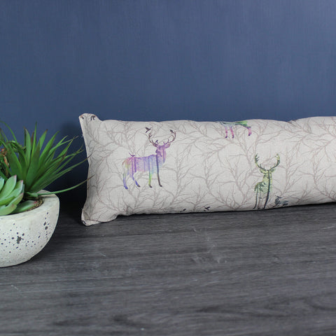 Colourful Stag Draught Excluder