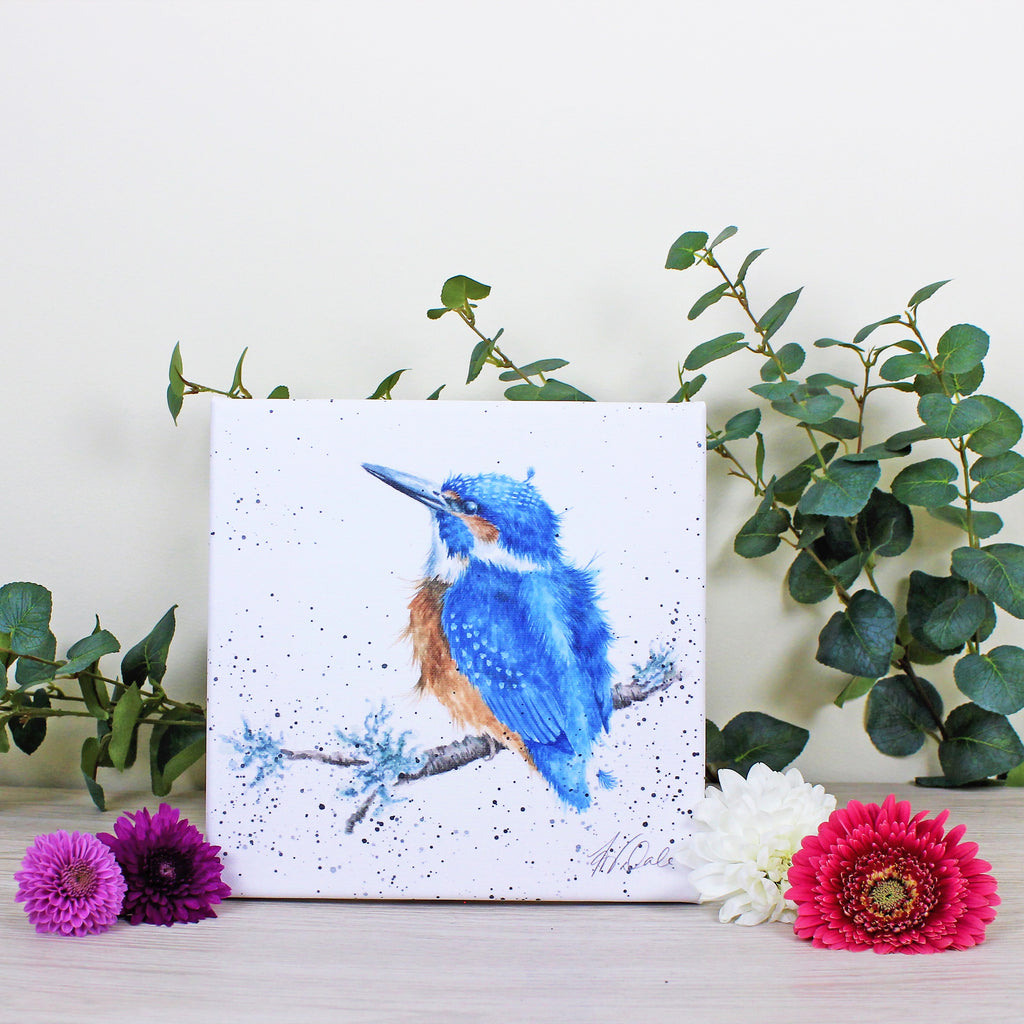 Wrendale Kingfisher Canvas King of the River