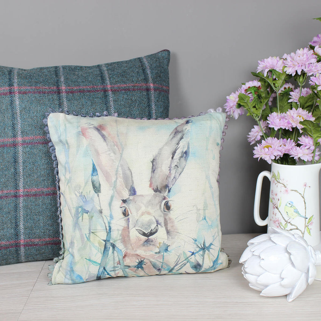 Jack Rabbit Hare Voyage Maison Cushion Mini Arthouse