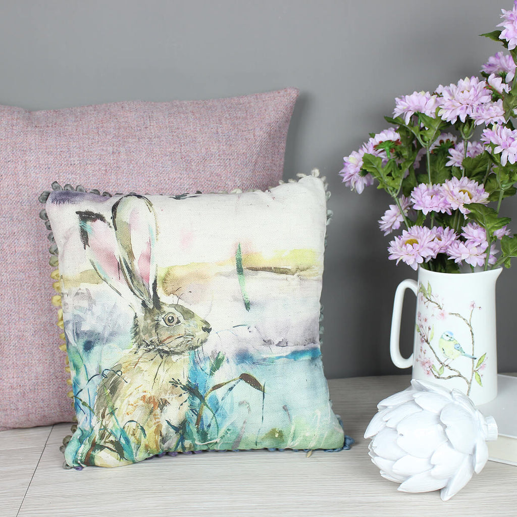 Morning Hare Voyage Maison Cushion Mini Arthouse