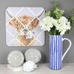 Daisy Coo Fabric Notice Board by Wrendale Designs