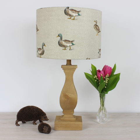 Mallard Duck Country Drum Lampshade Lightshade