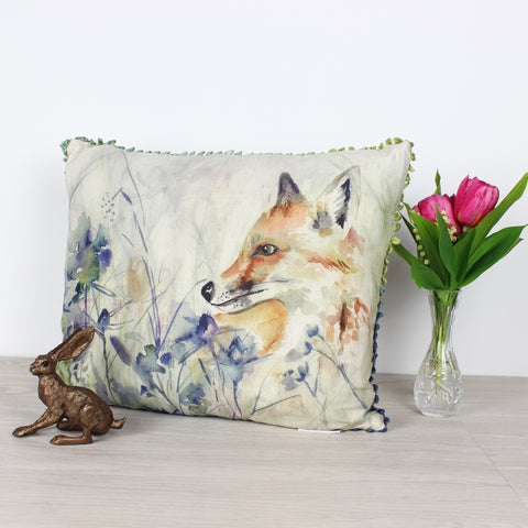 Hide and Seek Fox Voyage Maison Cushion