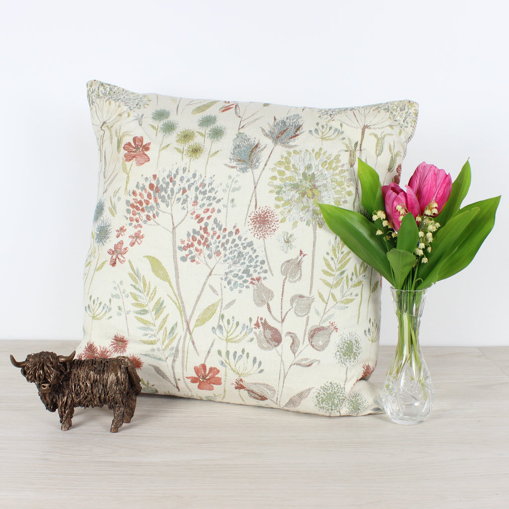 Autumn Voyage Flora Cushion
