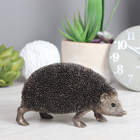 Snuffles Hedgehog Frith Bronze Sculpture
