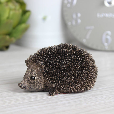 Squeak Junior Hedgehog Frith Bronze Sculpture