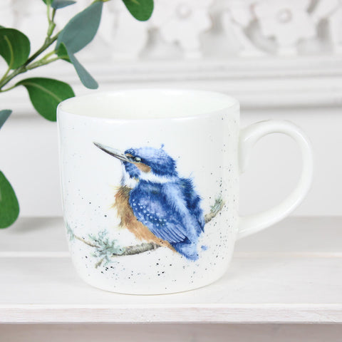 King of the River Kingfisher Mug - Wrendale Designs
