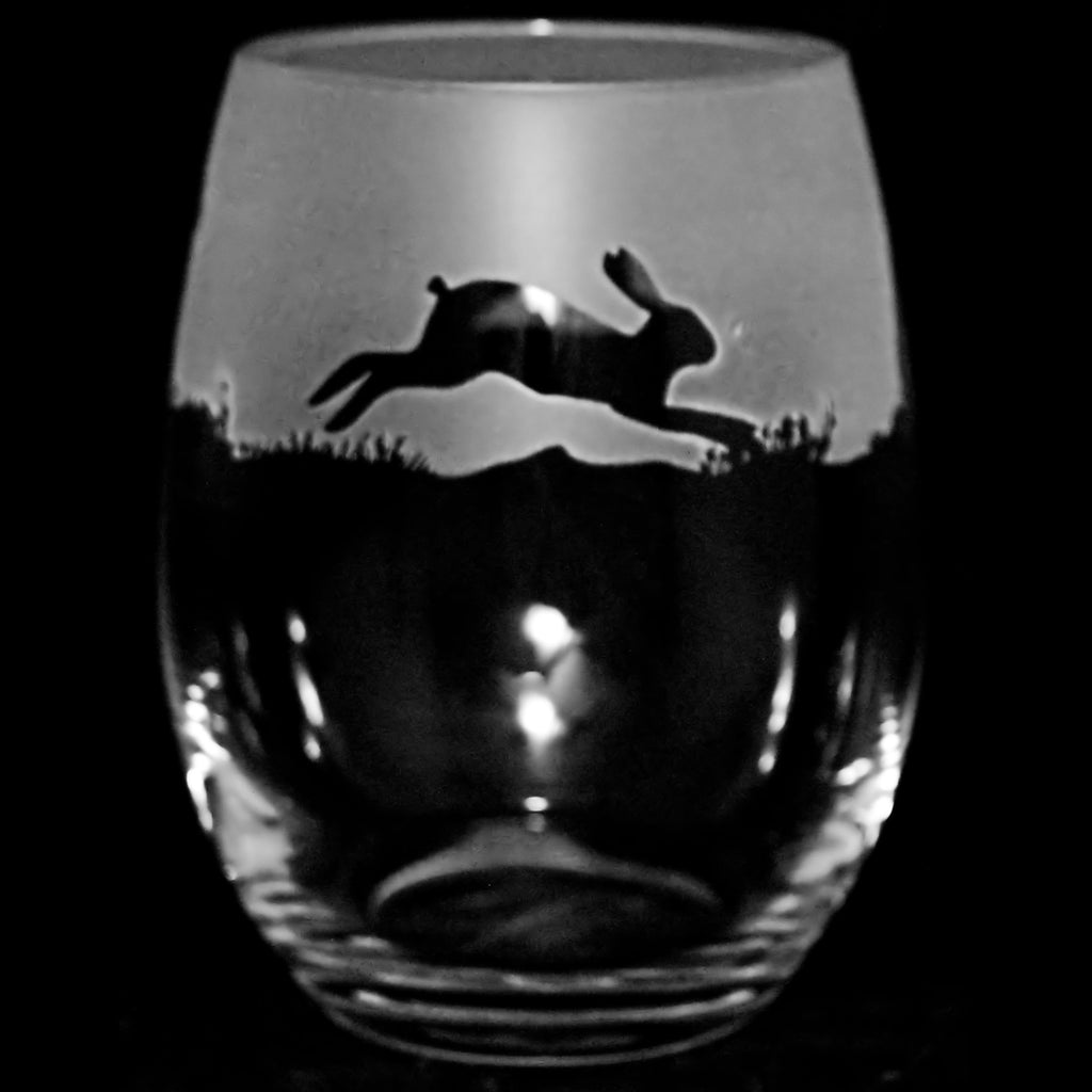 Hare Crystal Stemless Glass
