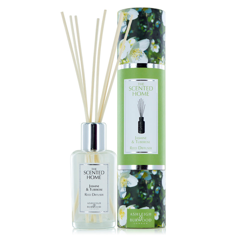 The Scented Home Reed Diffuser - Jasmine & Tuberose