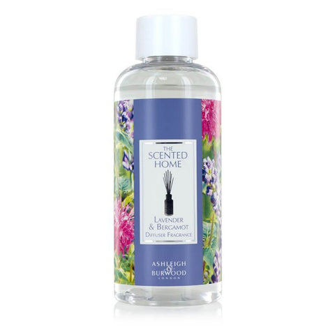 The Scented Home Reed Diffuser Refill - Lavender & Bergamot