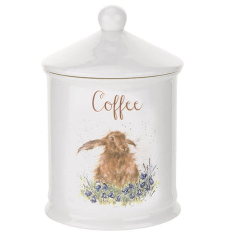 Hare Coffee Canister - Wrendale Designs