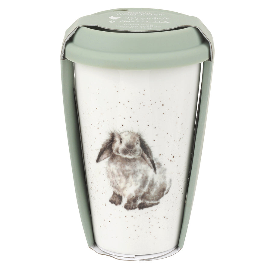 'Rosie' Rabbit Travel Mug