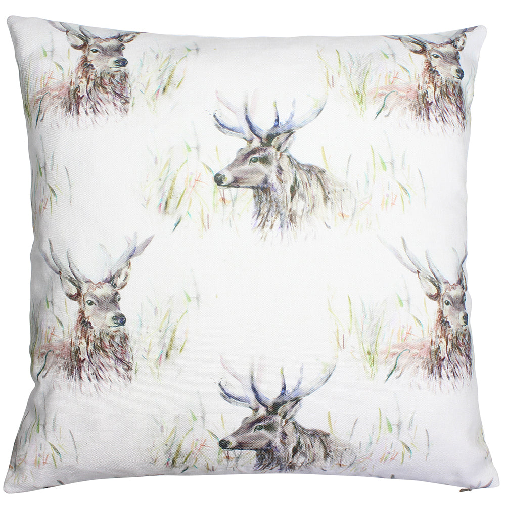 Wallace Stag Country Animal Cushion Cover