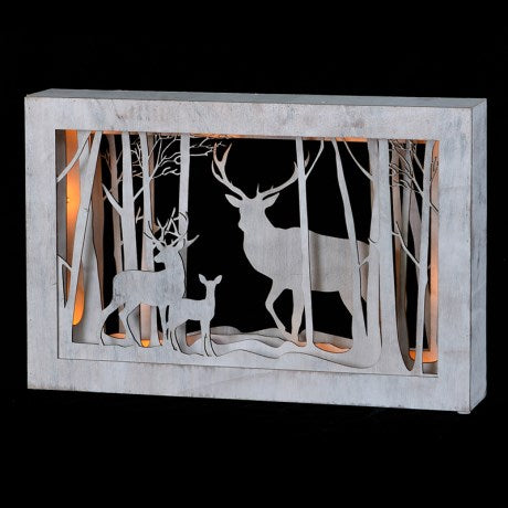 Landscape Deer Light Box