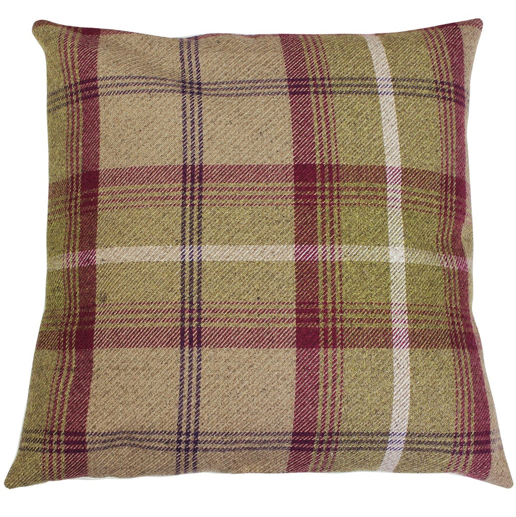 Heather Balmoral Checked Cushion Cover