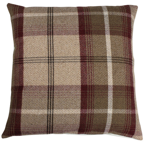 Mulberry Balmoral Checked Cushion Cover