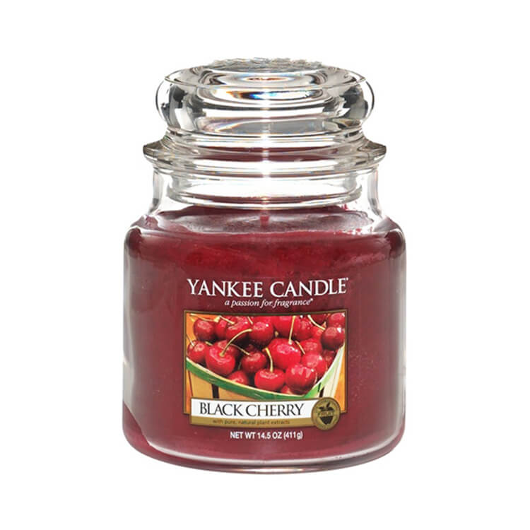 Yankee Candle Black Cherry Medium Jar Candle