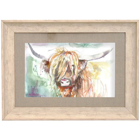 Bruce Highland Cow Picture Voyage Maison Art