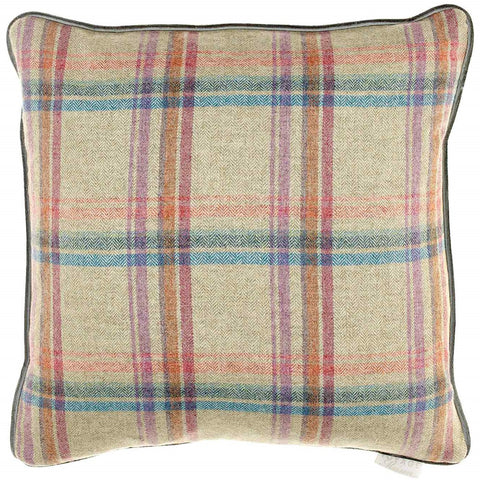 Tavistock Pomegranate Check Voyage Maison Cushion