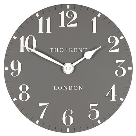 "Thomas Kent 12"" Arabic Dolphin Wall Clock"