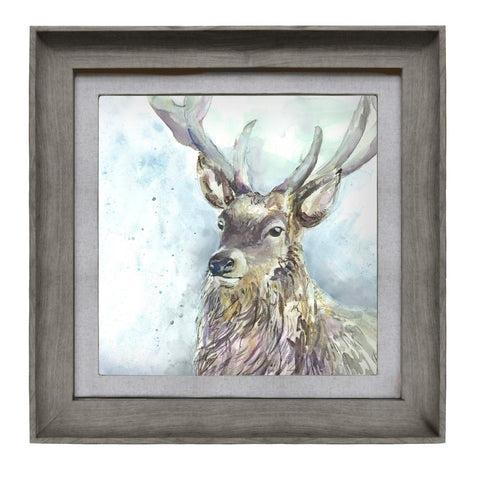 Wallace Stag Picture Voyage Maison Art Stone Frame