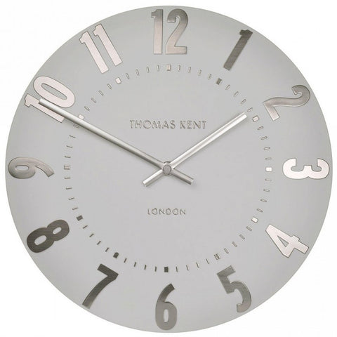"Thomas Kent 12"" Mulberry Dusty Grape Wall Clock"