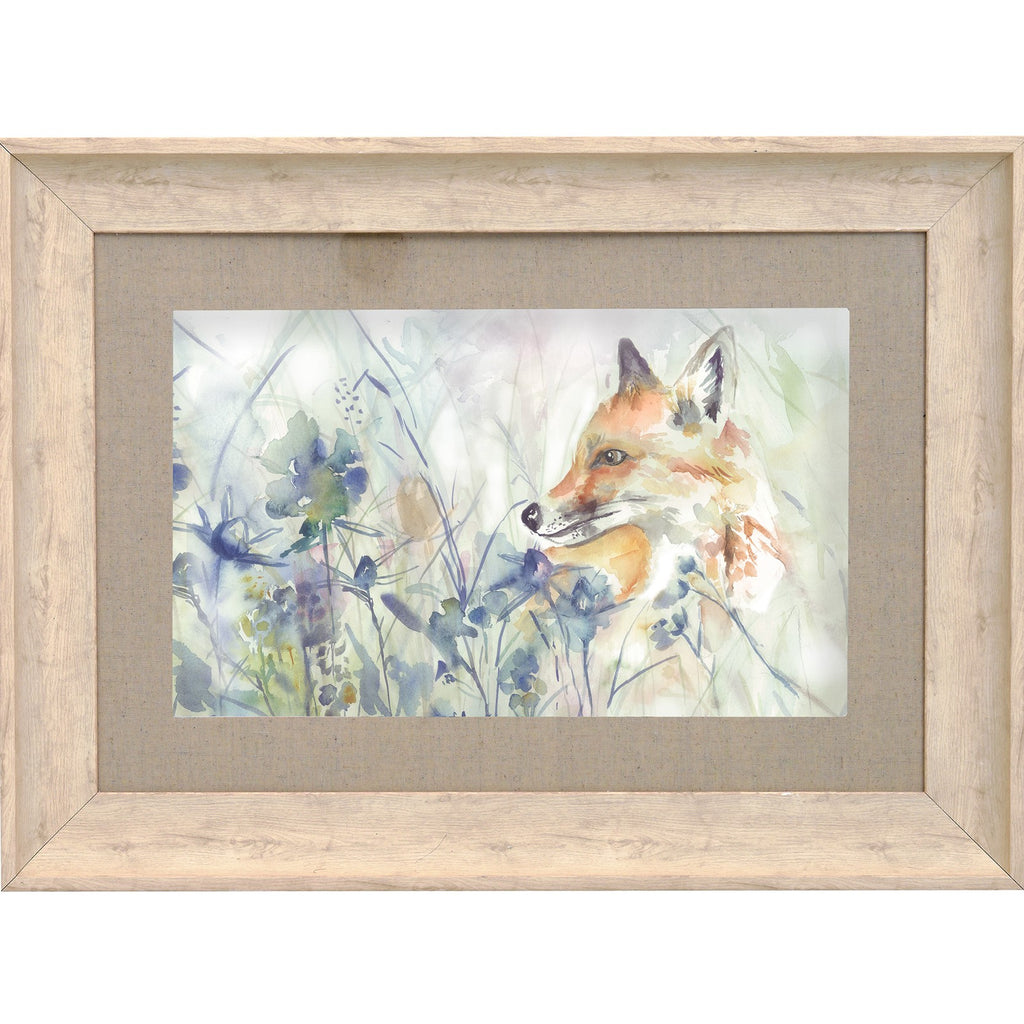 Hide and Seek Fox Picture Voyage Maison Art