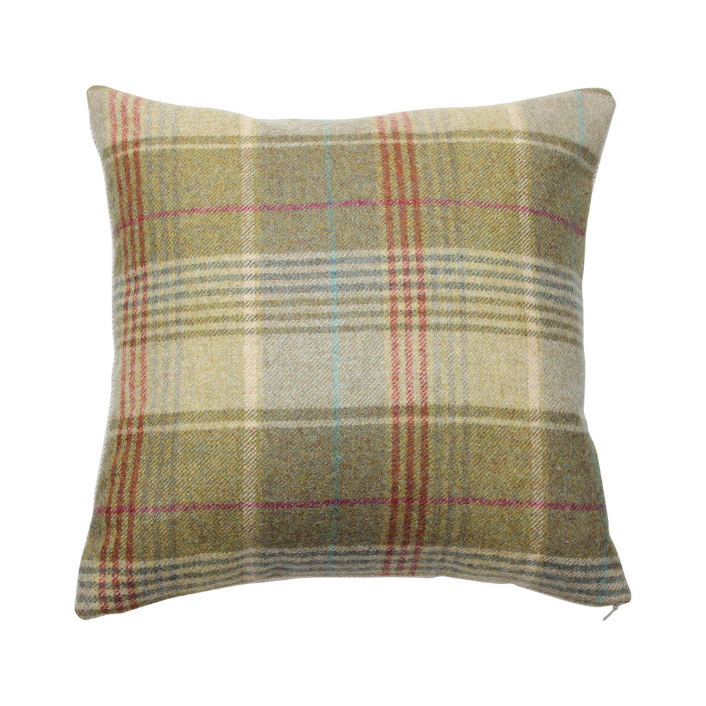 Huntingtower Hemp Tweed Wool Cushion