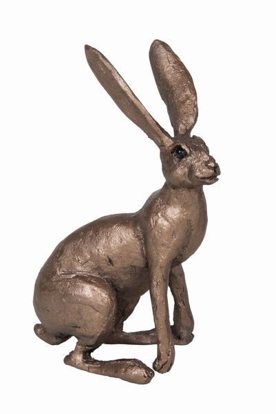 Jan Alert Hare Frith Bronze Sculpture