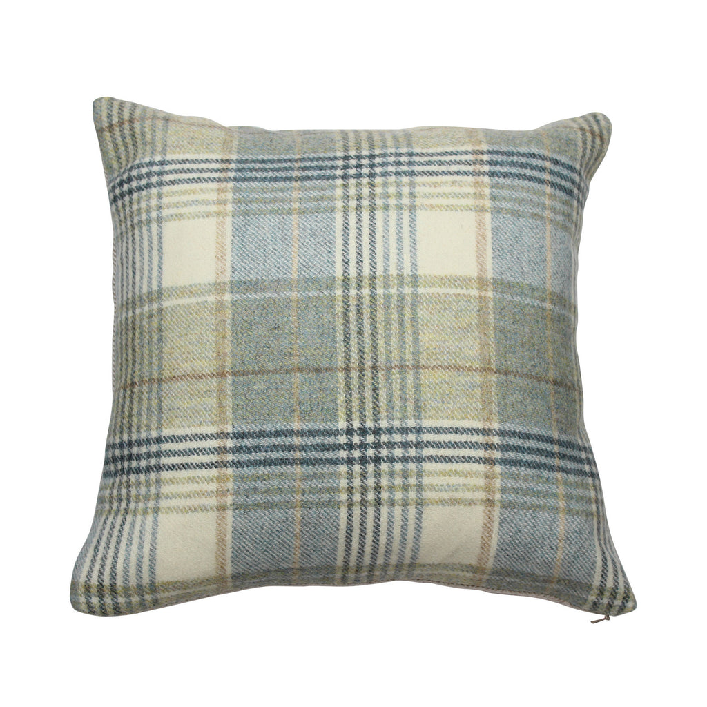 Kincraig Glacier Tweed Wool Cushion
