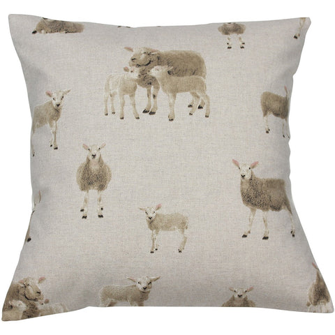 Lambs & Sheep Cushion Cover
