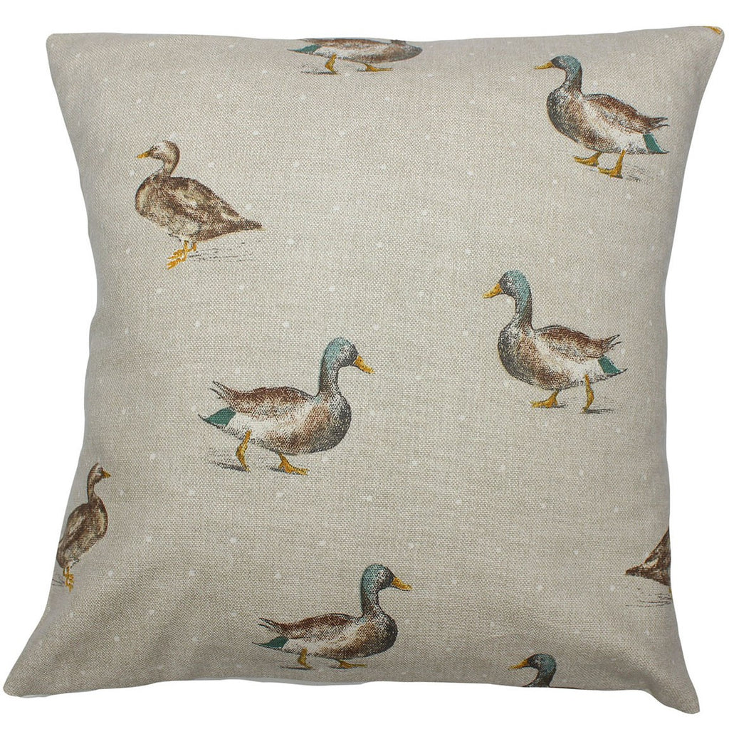 Mallard Duck Cushion Cover