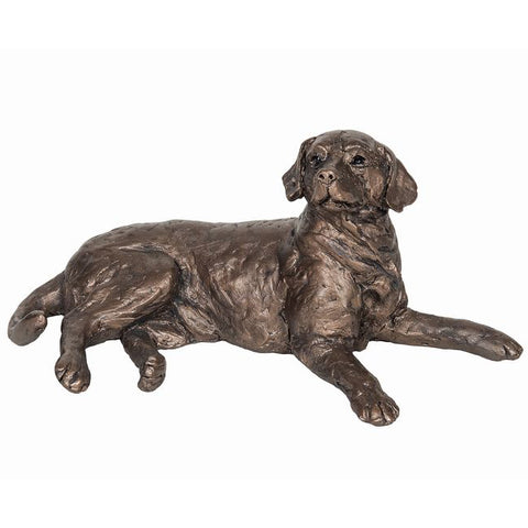 Meghan Labrador Dog Frith Bronze Sculpture