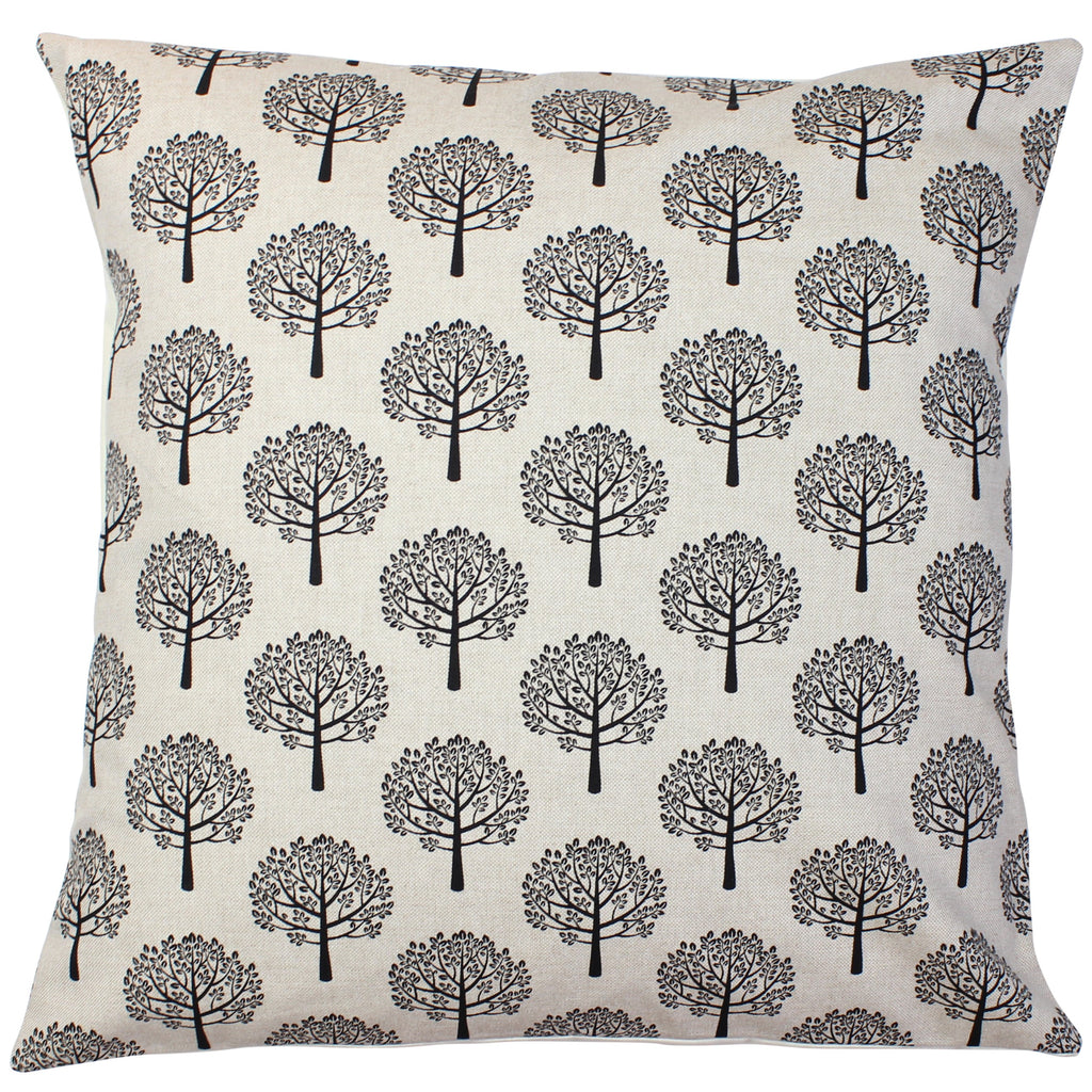 Black Mulberry Tree Cushion Cover