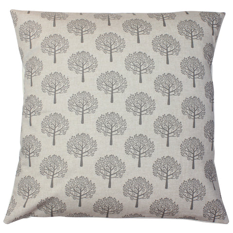 Grey Mulberry Tree Cushion Cover