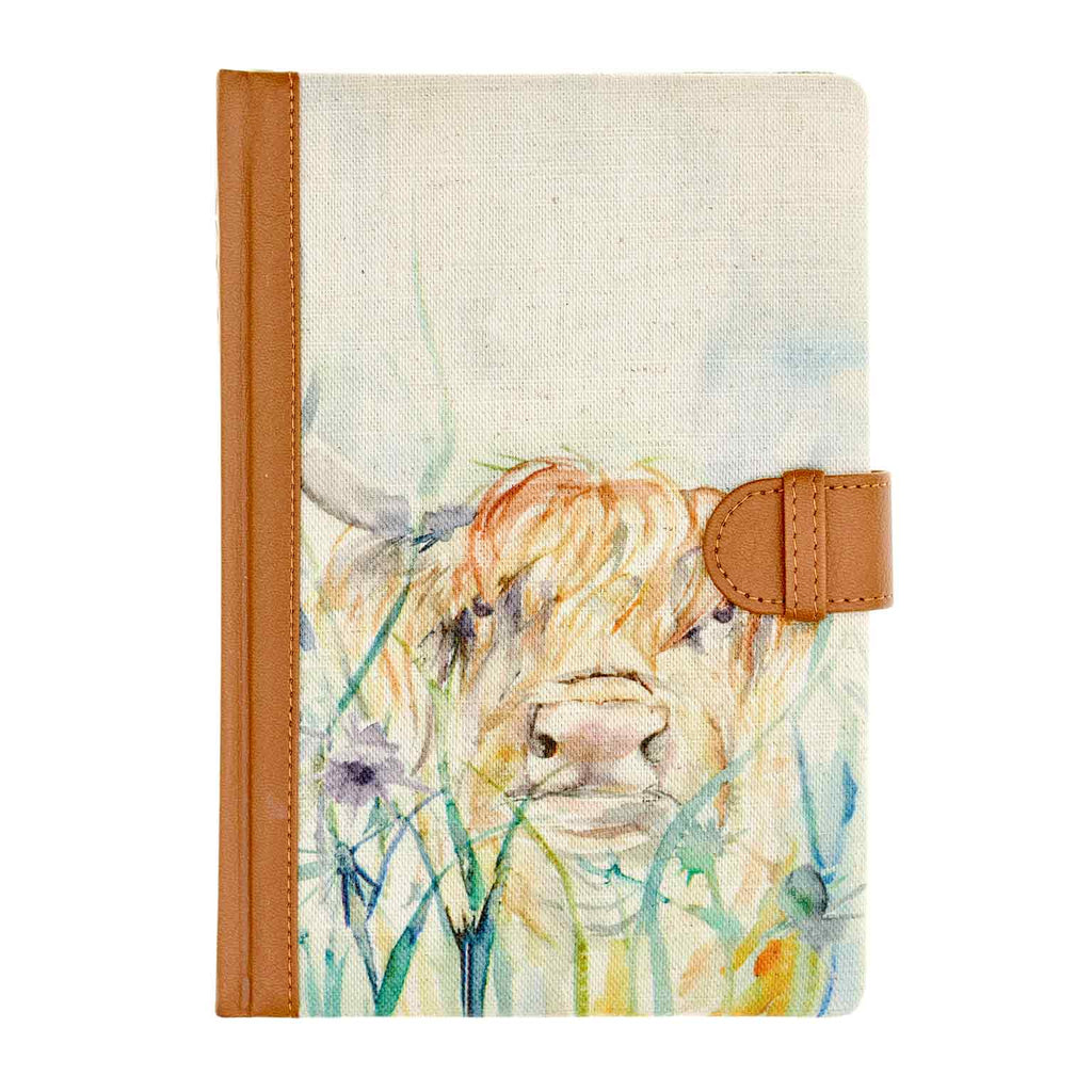 Bramble View Highland Cow Voyage Maison Cushion