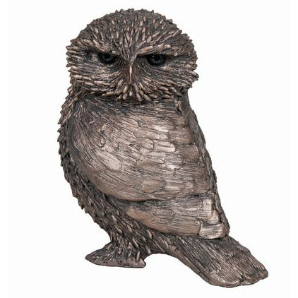 Olly Little Owl Frith Bronze Sculpture