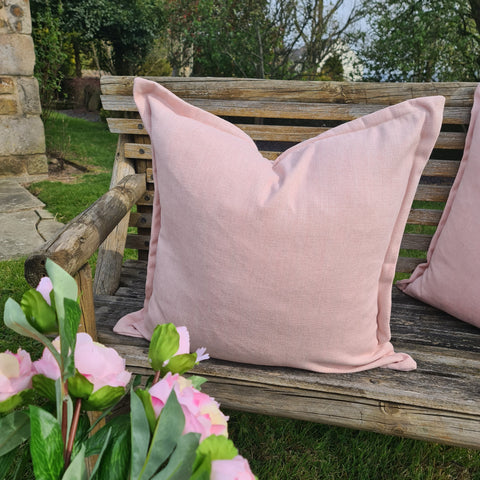 Pink Oxford Cushion