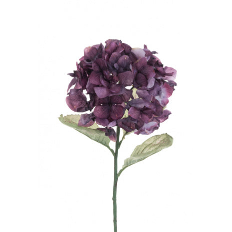 Faux Dried Purple Hydrangea