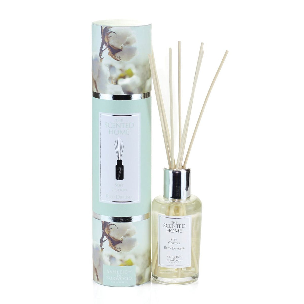 The Scented Home Reed Diffuser - Soft Cotton