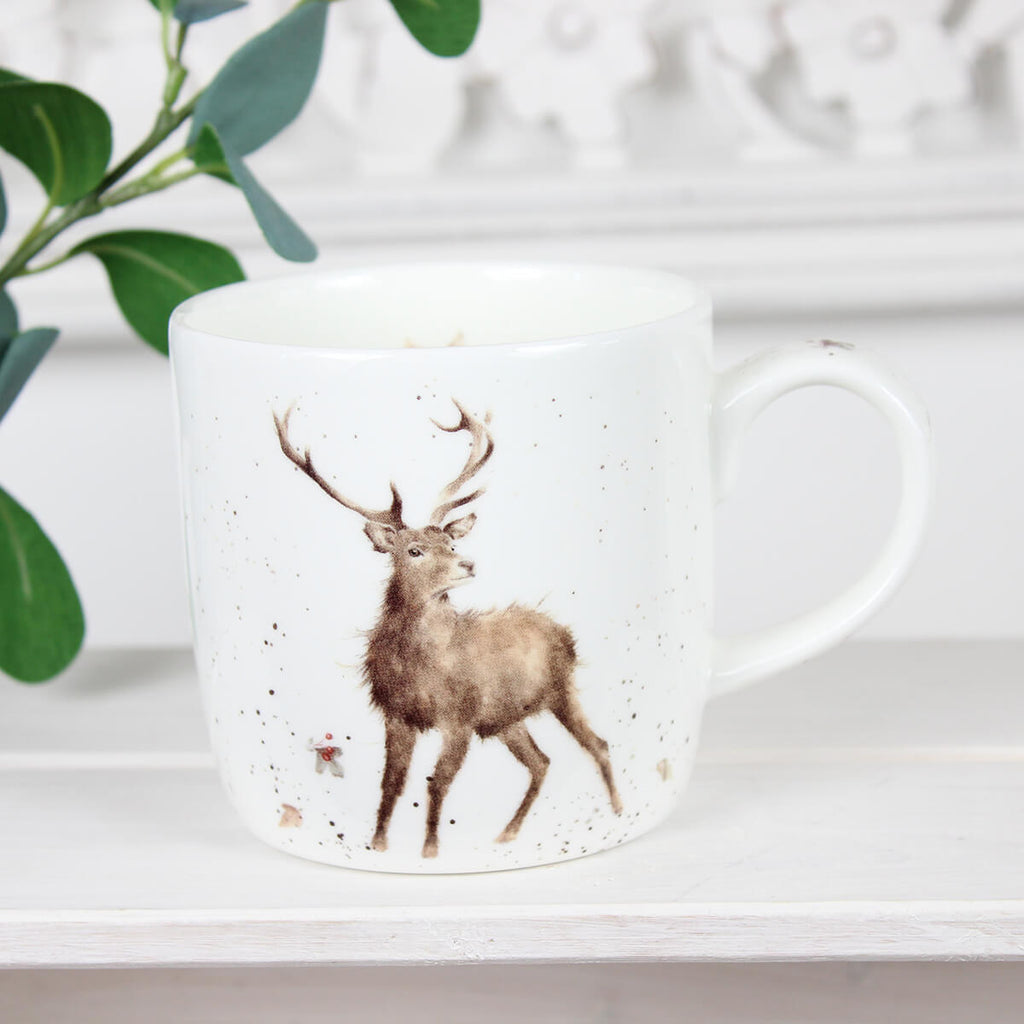 Wild at Heart Deer Mug - Wrendale Designs