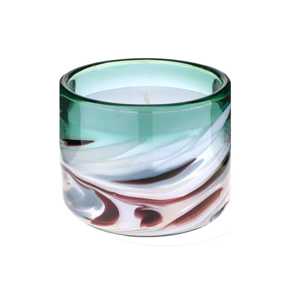 Athena Single Wick Candle Amber