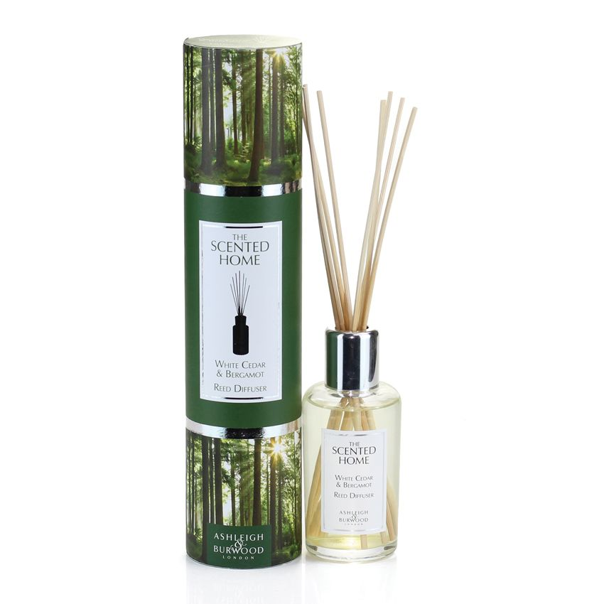 The Scented Home Reed Diffuser - White Cedar & Bergamot