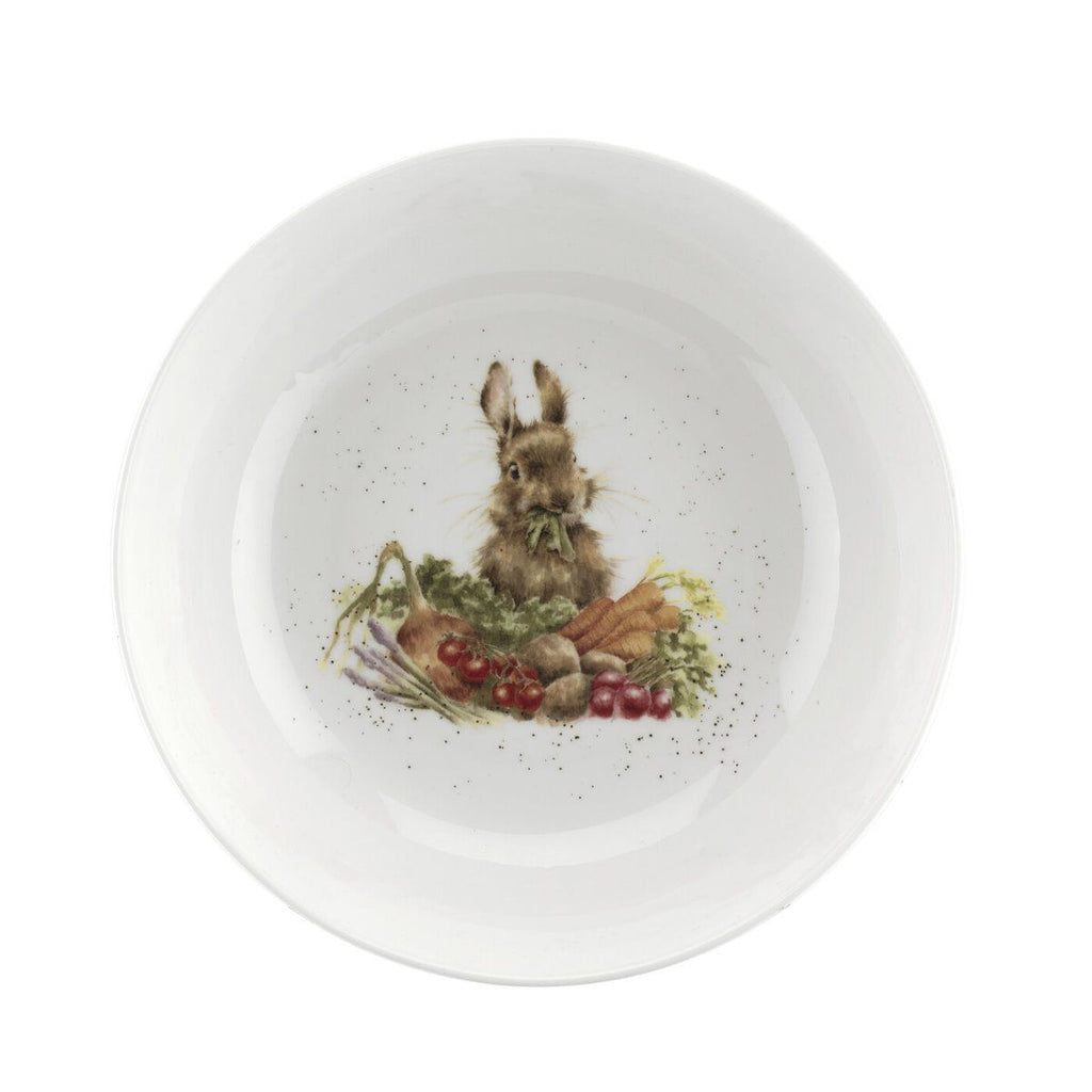 Royal Worcester Wrendale Designs Rabbit Salad Bowl