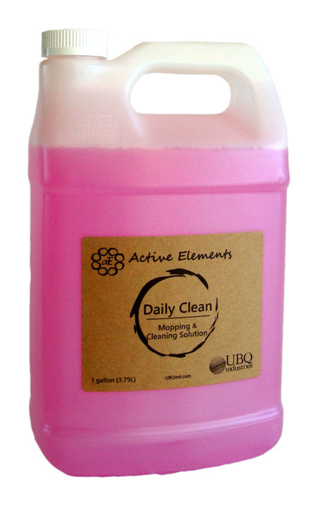 Daily clean for interior floor surfaces