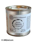 Black Enrich Pigment Color Pack for .75 gallon kit