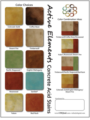 Concrete Stain Colors Ubq Industries