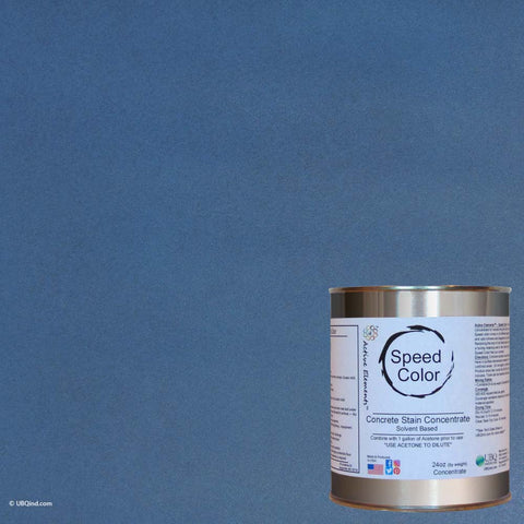 Speed Color Blue Slate to add color to concrete - gallon size